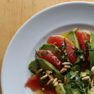 grapefruit avogado salad